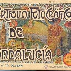 Libros antiguos: PORTFOLIO FOTOGRAFICO DE ANDALUCIA Nº 70 OLVERA. Lote 30994655