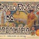 Libros antiguos: PORTFOLIO FOTOGRAFICO DE ANDALUCIA Nº 51 SANLÚCAR LA MAYOR. Lote 30994856