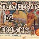 Libros antiguos: PORTFOLIO FOTOGRAFICO DE ANDALUCIA Nº 25 VILLACARRILLO. Lote 30995047