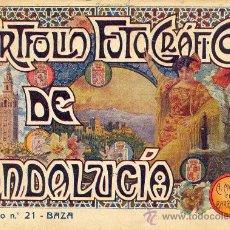 Libros antiguos: PORTFOLIO FOTOGRAFICO DE ANDALUCIA Nº 21 BAZA. Lote 30995079