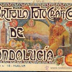 Libros antiguos: PORTFOLIO FOTOGRAFICO DE ANDALUCIA Nº 18 HUELVA. Lote 30995110