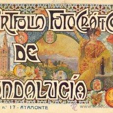 Libros antiguos: PORTFOLIO FOTOGRAFICO DE ANDALUCIA Nº 17 AYAMONTE. Lote 30995120