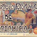 Libros antiguos: PORTFOLIO FOTOGRAFICO DE ANDALUCIA Nº 14 LA CAROLINA. Lote 30995140