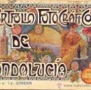 Libros antiguos: PORTFOLIO FOTOGRAFICO DE ANDALUCIA Nº 12 UTRERA. Lote 30995158