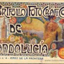 Libros antiguos: PORTFOLIO FOTOGRAFICO DE ANDALUCIA Nº 4 JEREZ DE LA FRONTERA . Lote 30995226