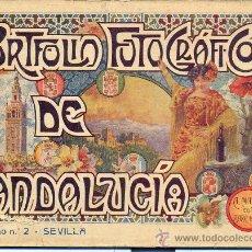 Libros antiguos: PORTFOLIO FOTOGRAFICO DE ANDALUCIA Nº 2 SEVILLA . Lote 30995256
