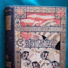 Libros antiguos: GEOGRAFIA GENERAL DE CATALUNYA. PROVINCIA DE BARCELONA - FRANCESC CARRERAS CANDI. CELS GOMIS -1915 ?. Lote 31385857