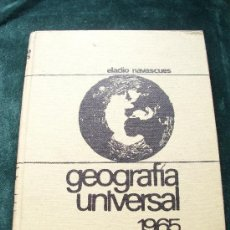 Libros antiguos: GEOGRAFIA UNIVERSAL 1965. Lote 31566673