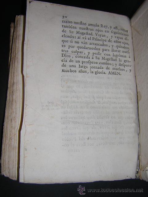 Libros antiguos: 1759 - RELACION OBSEQUIOSA... DEL VIAJE DE CARLOS III Y SU FAMILIA A BARCELONA EN 1759 - Foto 9 - 31614331