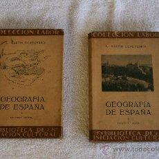 Libros antiguos: GEOGRAFÍA DE ESPAÑA. . Lote 31948307