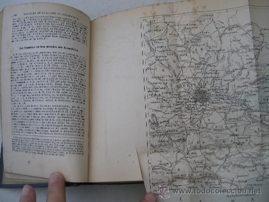 Libros antiguos: libro frances: selecciones de lectura sobre geografia, europa, por m.l.lanier, belin freres 1898 - Foto 4 - 32112848