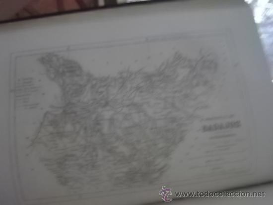 CRONICA GENERAL DE ESPAÑA EDIT 1870 4 LIBROS 1 TOMO CACERES MURCIA BADAJOZ ALBACETE COMPLETOS (Libros Antiguos, Raros y Curiosos - Geografía y Viajes)