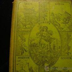 Libros antiguos: ELEMENTOS DE GEOGRAFIA COMPARADA. LIBRERÍA DE HERNANDO Y JUBERA, MADRID, 1900. FELIX SANCHEZ. Lote 32364640