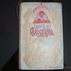 Libros antiguos: CELSO GOMIS,ELEMENTOS DE GEOGRAFIA GENERAL, 1901. Lote 32438809