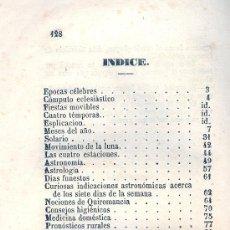 Libros antiguos: ALMANAQUE POPULAR DE ESPAÑA PARA EL AÑO 1845. MADRID, 1844. Lote 22570567