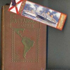 Libros antiguos: SOUTH AMERICAN HANDBOOK 1935. Lote 32644560