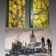 Libros antiguos: 1841 - ALEMANIA PANORAMA UNIVERSAL - 2 TOMOS - 100 LAMINAS - MAPA DESPLEGABLE. Lote 32699577