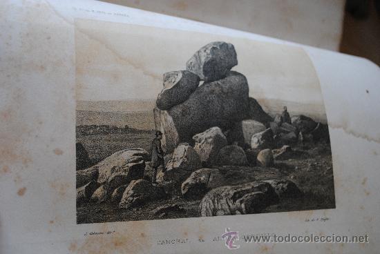 Libros antiguos: 1874.- AVILA. DESCRIPCION FISICA, GEOLOGICA Y MINERA DE LA PROVINCIA. - Foto 4 - 32780040