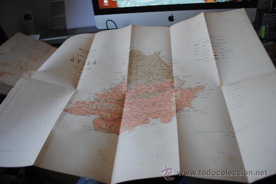 Libros antiguos: 1874.- AVILA. DESCRIPCION FISICA, GEOLOGICA Y MINERA DE LA PROVINCIA. - Foto 5 - 32780040