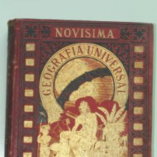 Libros antiguos: GEOGRAFIA UNIVERSAL TOMO PRIMERO.RAFEL SALVATELLA EDITOR.BARCELONA 1886. Lote 32857720