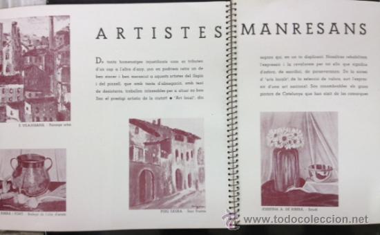 Libros antiguos: MANRESA 1935. CON FOTOGRAFÍAS, PUBLICIDAD, ... 56 PÁG. (VER FOTOS ADICIONALES) - Foto 9 - 33549576