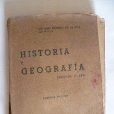 Libros antiguos: HISTORIA Y GEOGRAFIA - 1938. Lote 33679874