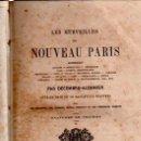 Libros antiguos: LES MERVEILLES DU NOUVEAU PARIS, PAR DÉCEMBRE-ALONNIER, PARIS 1867, 404 PÁGS, 14X22CM. Lote 33888180