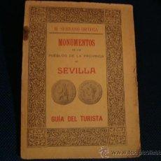 Libros antiguos: (472) MONUMENTOS DE LOS PUEBLOS DE LA PROVINCIA DE SEVILLA. Lote 33957514