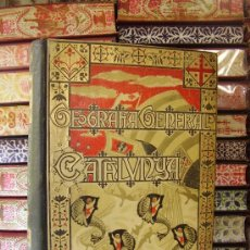 Libros antiguos: GEOGRAFÍA GENERAL DE CATALUNYA ( 6 VOLS.) . AUTOR : CARRERAS CANDI, FRANCESCH. Lote 34034764