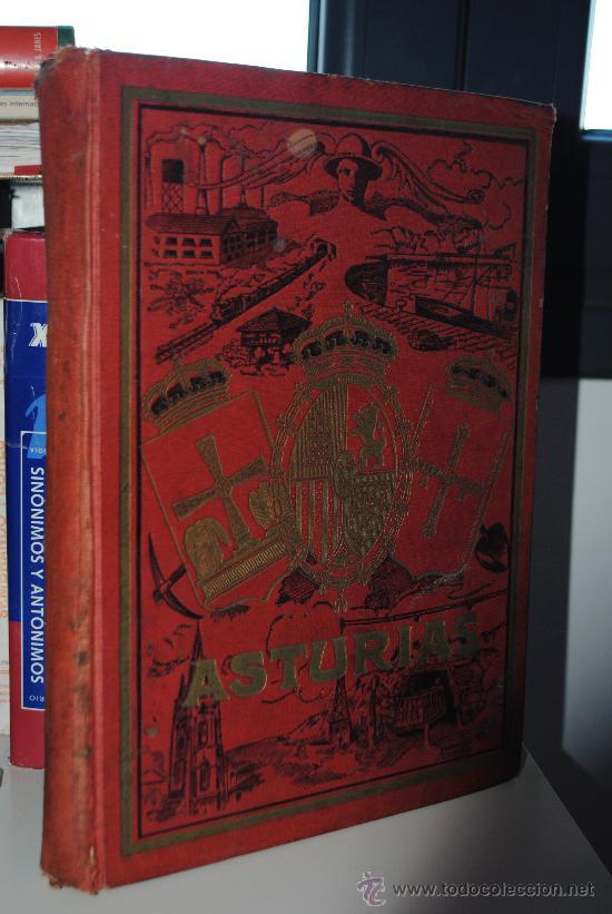 Libros antiguos: Asturias, Guía monumental, histórica, artística, industrial, comercial y de profesiones. 1923 Asturi - Foto 2 - 34291438