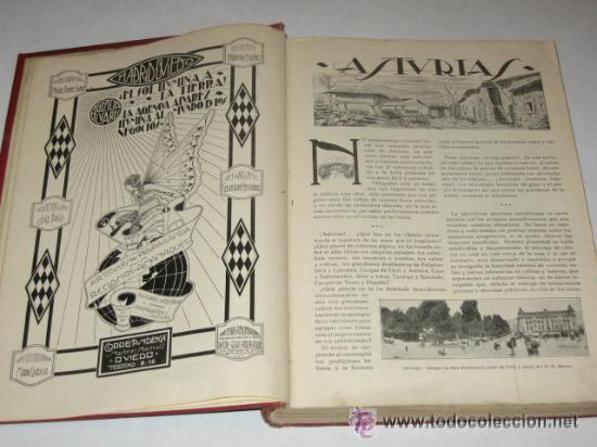 Libros antiguos: Asturias, Guía monumental, histórica, artística, industrial, comercial y de profesiones. 1923 Asturi - Foto 8 - 34291438