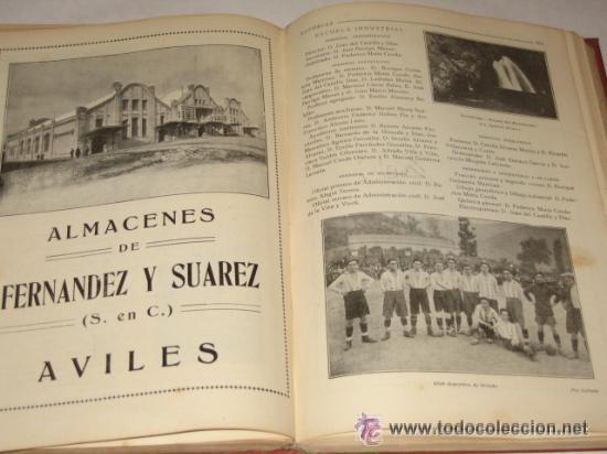 Libros antiguos: Asturias, Guía monumental, histórica, artística, industrial, comercial y de profesiones. 1923 Asturi - Foto 10 - 34291438