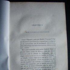 Libros antiguos: 1877-.MADRID.VIAJES.HISTORIA. POR M. L´ABBÉ.ORIGINAL . Lote 34371613
