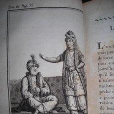 Libros antiguos: LE VOYAGEUR DE LA JEUNESSE, TOMO III , PIERRE BLANCHARD, 1804. CONTIENE 9 GRABADOS. Lote 34409733