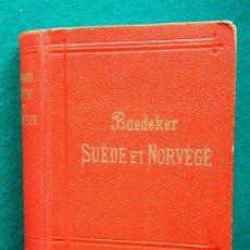 Libros antiguos: SUEDE ET NORVEGE - ROUTES A TRAVES DANEMARK, EXCURSIONS ISLANDE ET SPITBERG - BAEDEKER - 1911. Lote 34460076