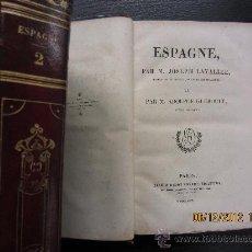 Libros antiguos: EL UNIVERSO Y DESCRIPCIÓN DE TODOS LOS PUEBLOS ESPAÑA, LAVALLEE Y GUEROULT, 1844. Lote 34553779