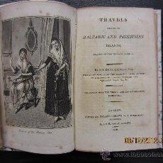 Libros antiguos: VIAJE A TRAVES DE ISLAS BALEARES Y PITIUSAS, 1808, SAUVEUR, TRAVELS THROUGH THE BALEARIC AND PITHIUS. Lote 34553994