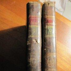 Libros antiguos: EL VIAGERO UNIVERSAL, DE LAPORTE. TOMOS 1º Y 2º. MADRID 1796. ENCUADERNACION EN PIEL ORIGINAL. Lote 34607440