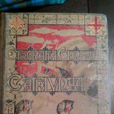 Libros antiguos: 1910.GEOGRAFIA GENERAL DE CATALUNYA.PROVINCIA DE LLEYDA. LLEIDA LERIDA CARRERAS CANDI.. Lote 34680591