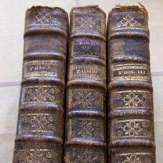 Libros antiguos: VIAJES POR EUROPA 1741 EN 3 VOLUMENES LETTRES DU BARON DE POLLNITZ. Lote 34856652