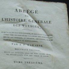 Libros antiguos: PARIS 1820 * HISTORIA DE LOS VIAJES BRASIL GUAYANA Y CARACAS ANTILLAS CARIBE ETC. Lote 34858198