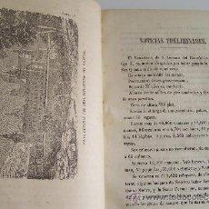 Libros antiguos: AÑO 1866 SAN LORENZO DEL ESCORIAL MANUAL DE VIAJEROS 150 PGS Y 7 GRABADOS. Lote 35595053