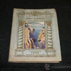 Libros antiguos: ALBUM OFICIAL DE GERONA Y SU PROVINCIA, GIRONA. 1926.. Lote 35861348