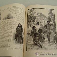 Libros antiguos: LE TOUR DU MONDE 1898 ( VUELTA AL MUNDO) POR EDOUARD CHARTON 2º SEMESTRE. Lote 36084875