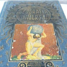 Libros antiguos: GEOGRAFIA UNIVERSAL 1934 - COMPLETO - ATLAS MAPAS ARTE FOTOS- MUY ILUSTRADO. Lote 36075329