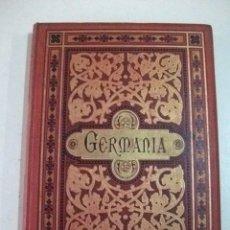 Libros antiguos: GERMANIA – DOS MIL AÑOS DE HISTORIA ALEMANA - JUAN SCHERR. Lote 36127637