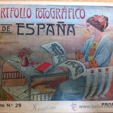 Libros antiguos: PORTFOLIO FOTOGRAFICO DE ESPAÑA CUADERNO Nº 29 PAMPLONA. Lote 36668979