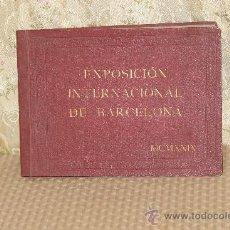 Libros antiguos: 3119- EXPOSICION INTERNACIONAL DE BARCELONA. PUEBLO ESPAÑOL. 1929. . Lote 37121228