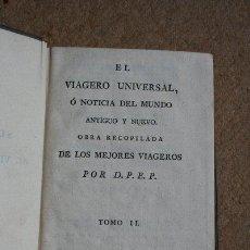 Libros antiguos: EL VIAJERO UNIVERSAL,O NOTICIA DEL MUNDO ANTIGUO Y NUEVO. LAPORTE (MR. DE) TOMO II DEL SUPLEMENTO. Lote 38345957
