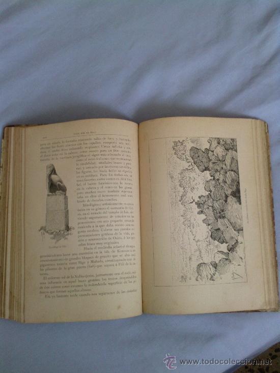 Libros antiguos: Viaje por el nilo.1890 E.gonzebach y r.mainella 331 paginas montaner y simon editores - Foto 4 - 38694479